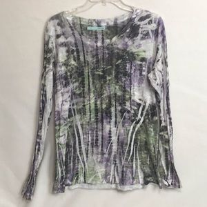 Maurice's Women Shirt Plus Size XXL Burnout